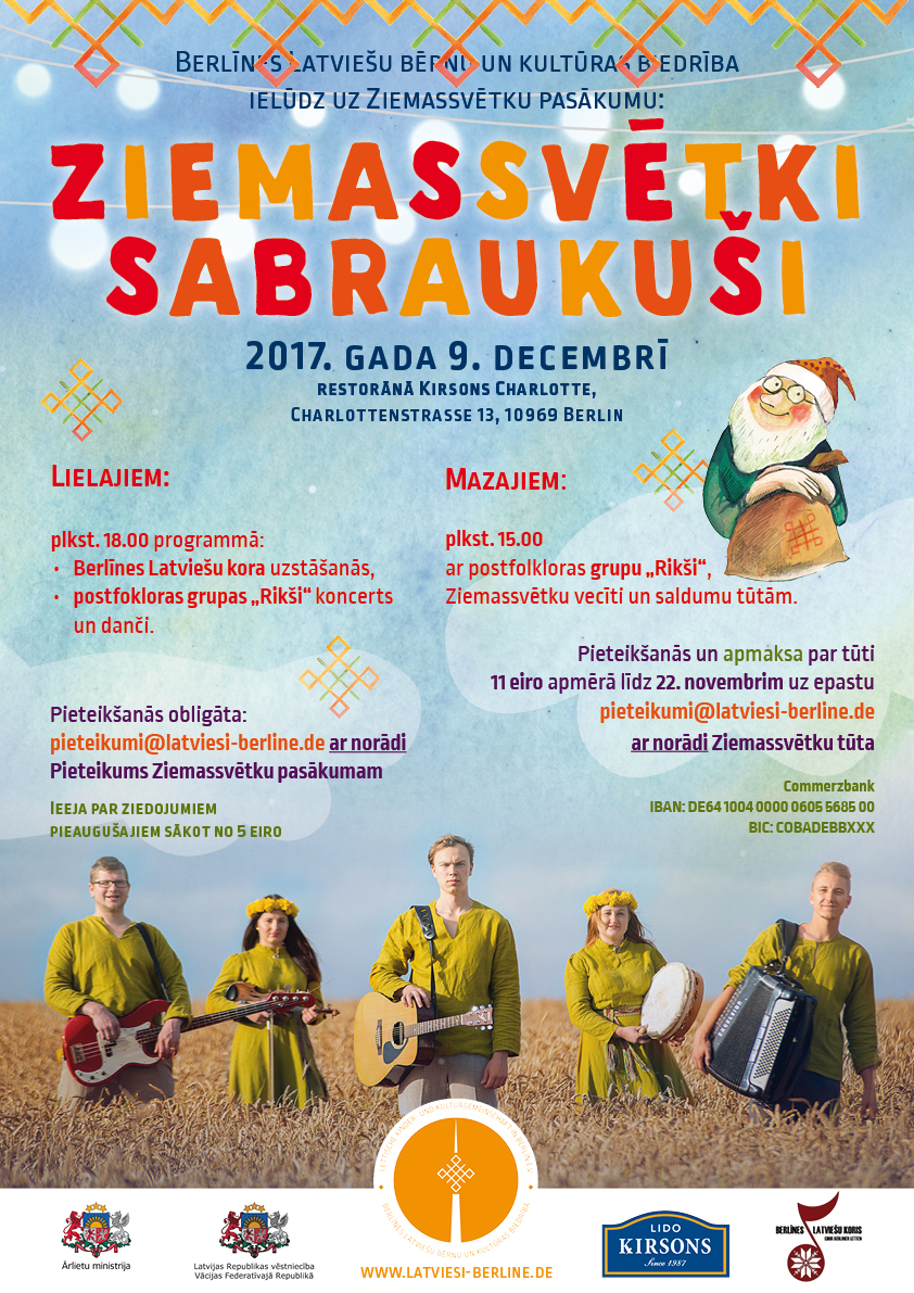 Ziemassvētki Sabraukuši Berlīnē – 2017. Gada 9. Decembrī