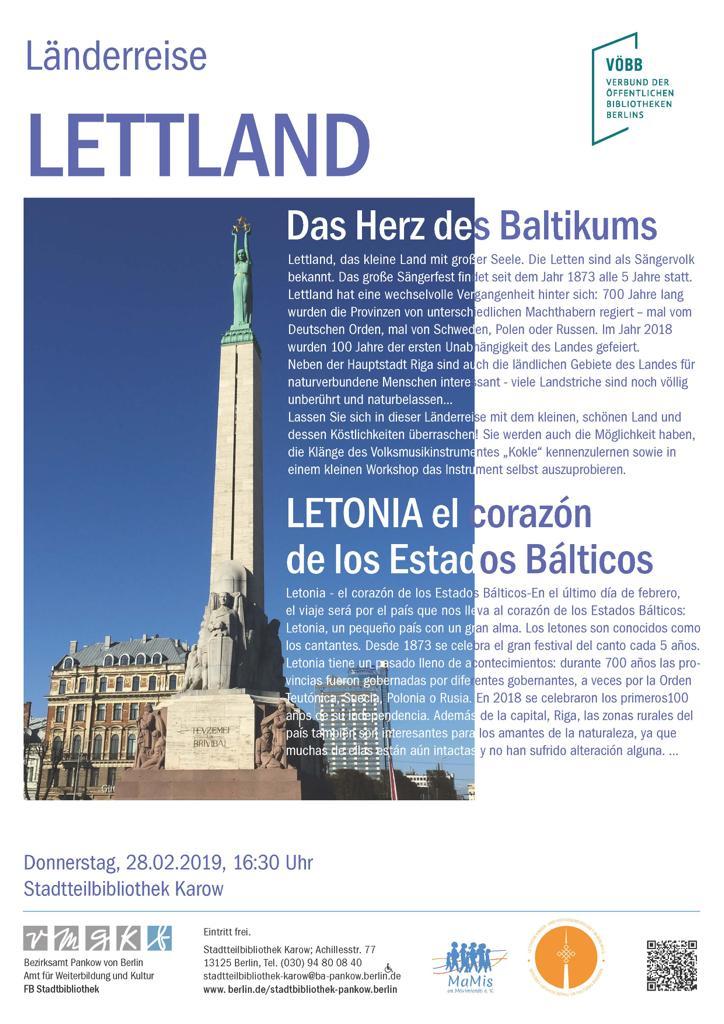 Lettland – Das Herz Des Baltikums